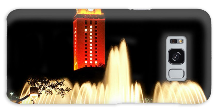 Photo Galaxy S8 Case featuring the photograph Ut Tower Championship Win by Marilyn Hunt