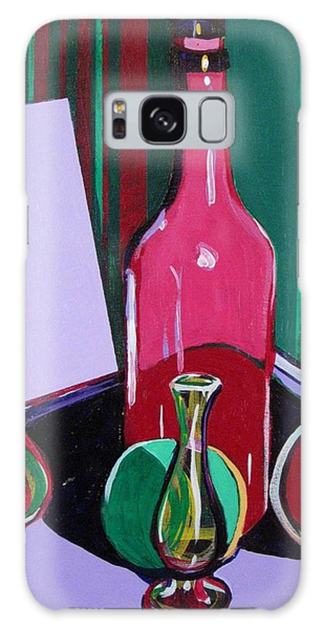 Still Life Galaxy S8 Case featuring the painting V R Y G Still Life #5 by Rollin Kocsis