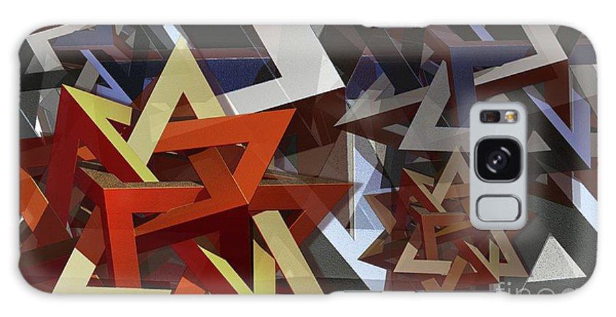 Valknut Galaxy S8 Case featuring the digital art Valknut by Ron Bissett