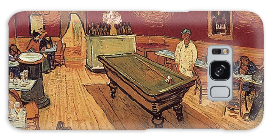 1888 Galaxy S8 Case featuring the painting Van Gogh Night Cafe 1888 by Granger