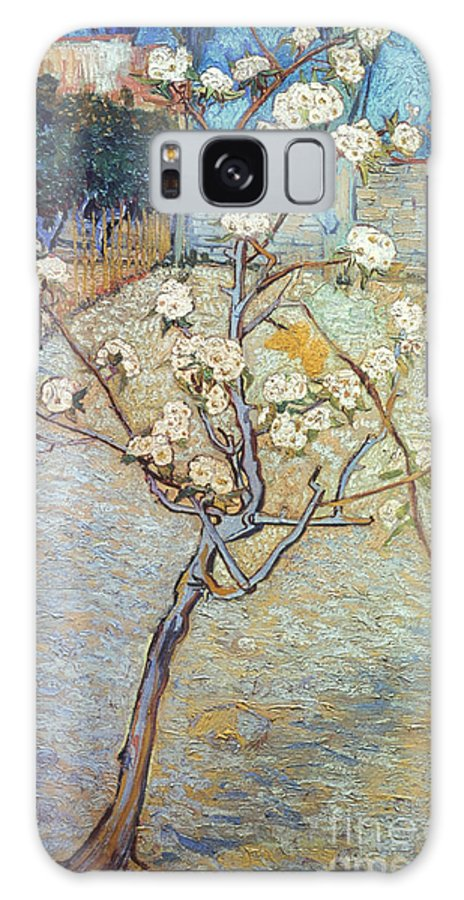 1888 Galaxy S8 Case featuring the photograph Van Gogh: Peartree, 1888 by Granger