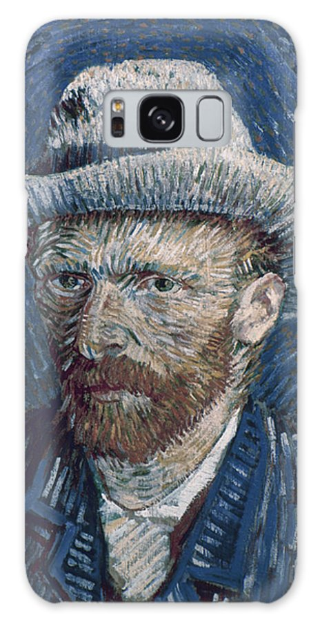 1887 Galaxy S8 Case featuring the photograph Van Gogh: Self-portrait by Granger