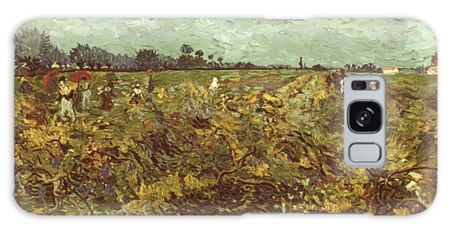 1888 Galaxy S8 Case featuring the photograph Van Gogh: Vineyard, 1888 by Granger