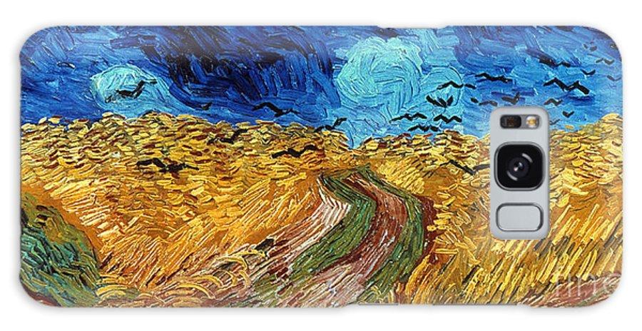 1890 Galaxy S8 Case featuring the photograph Van Gogh: Wheatfield, 1890 by Granger