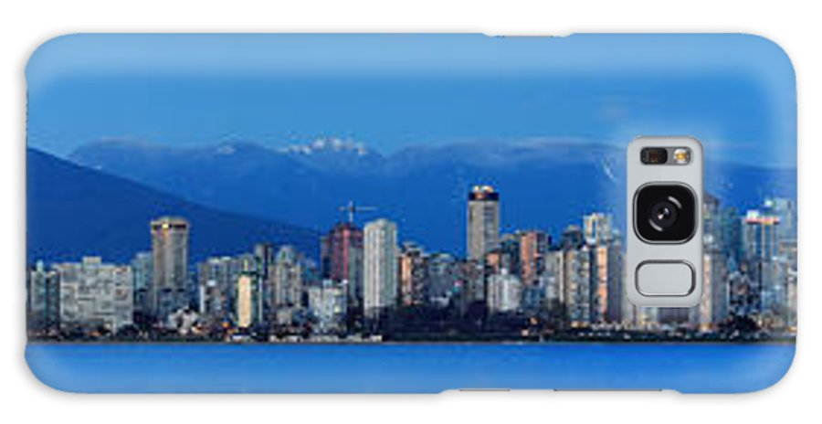 Vancouver Galaxy S8 Case featuring the photograph Vancouver Panorama  This Can Be Printed Very Large by Pierre Leclerc Photography
