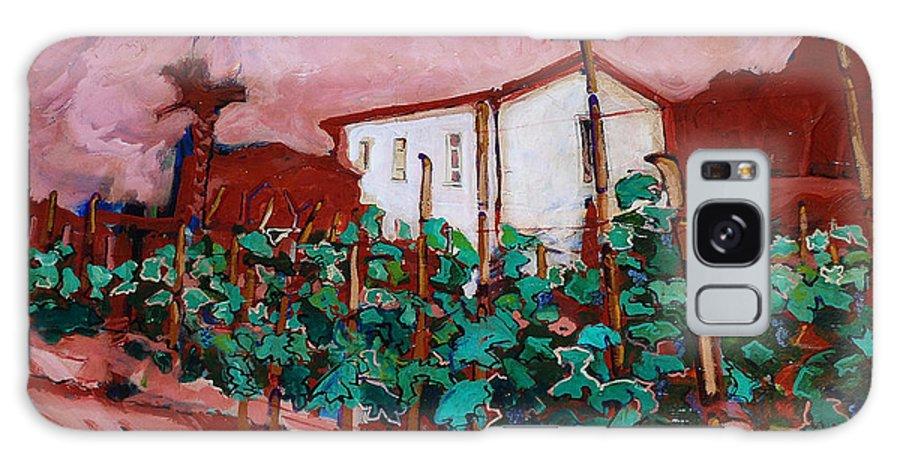 Tuscany Galaxy Case featuring the painting Vecchio Casa Di Pietro by Kurt Hausmann
