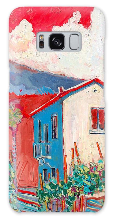 Tuscany Galaxy S8 Case featuring the painting Vecchio Casa by Kurt Hausmann