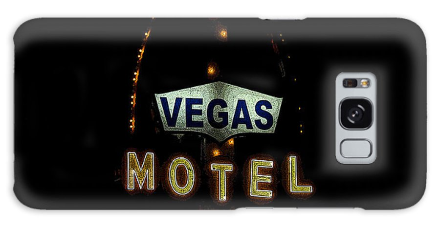 Art Galaxy S8 Case featuring the painting Vegas Motel by David Lee Thompson