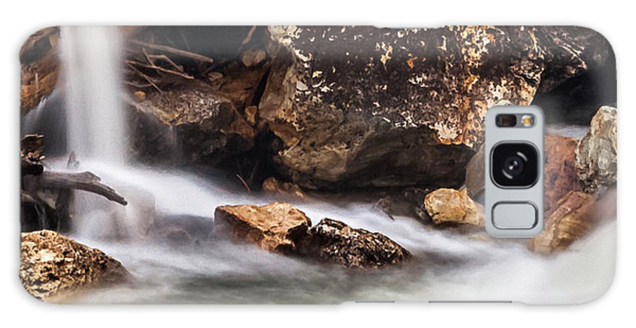 Streams Galaxy S8 Case featuring the photograph Velvet Falls - Rocky Mountain Stream by Steven Milner