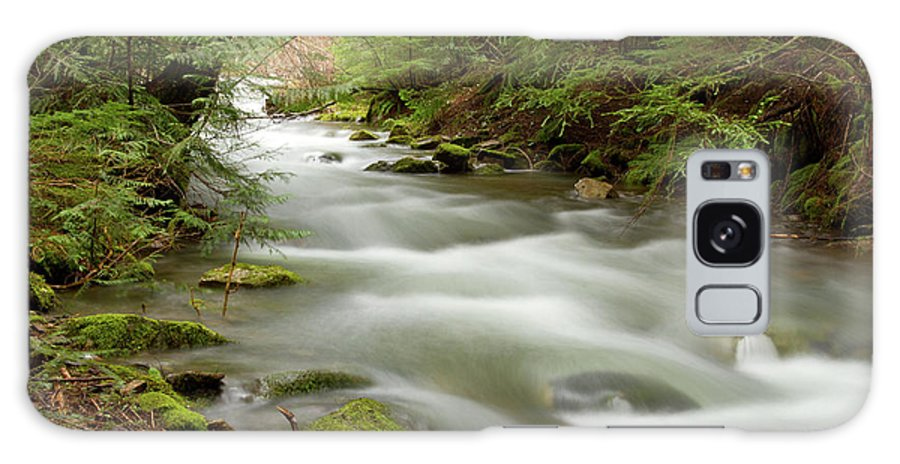 Beauty Creek Galaxy S8 Case featuring the photograph Velvet Stream by Idaho Scenic Images Linda Lantzy