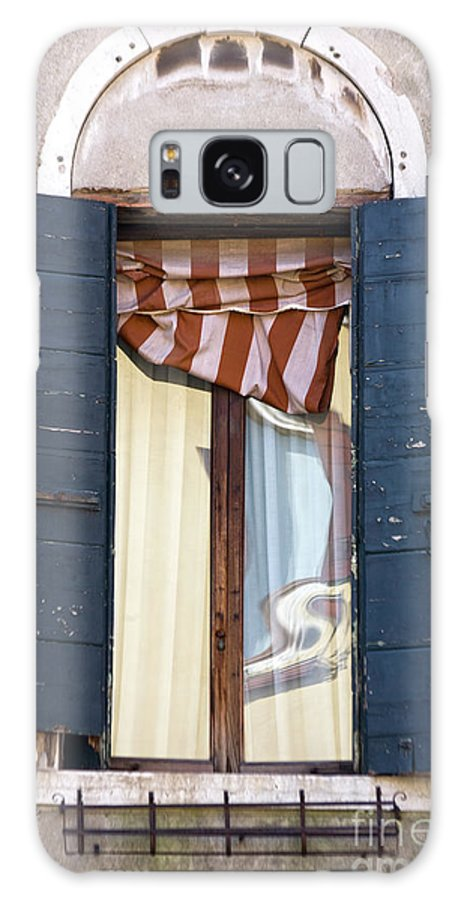 Europe Galaxy S8 Case featuring the photograph Venetian Windows Shutter by Heiko Koehrer-Wagner