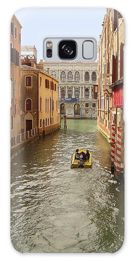 Karen Zuk Rosenblatt Galaxy S8 Case featuring the photograph Venice Canal 2 by Karen Zuk Rosenblatt