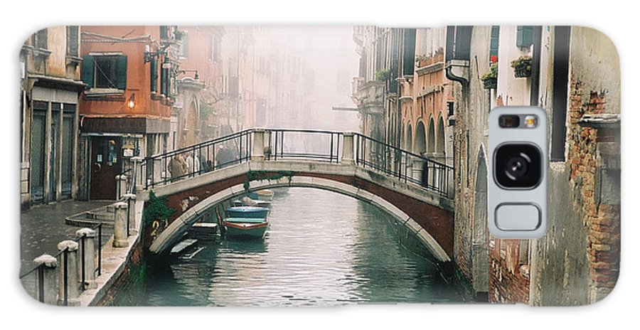 Venice Galaxy S8 Case featuring the photograph Venice Canal II by Kathy Schumann