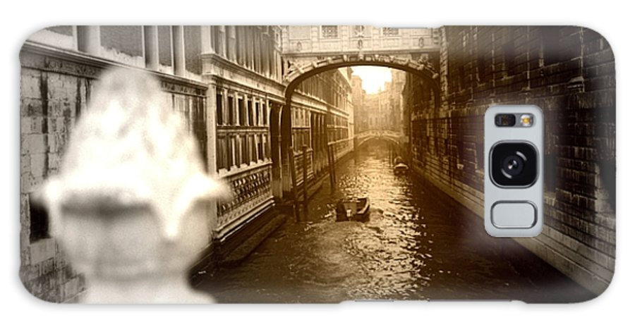 Architectural Galaxy S8 Case featuring the photograph Venice Canal With Sunlight by Emanuel Tanjala