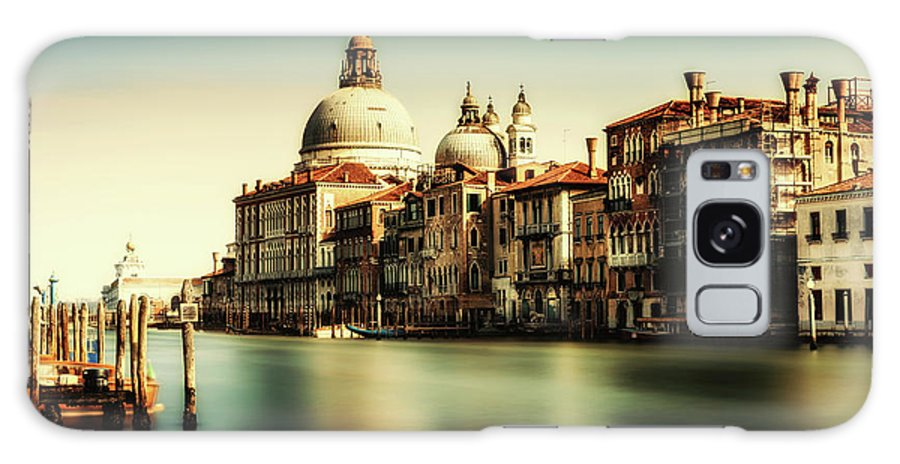 Grand Galaxy S8 Case featuring the photograph Venice Grand Canal by Miles Whittingham