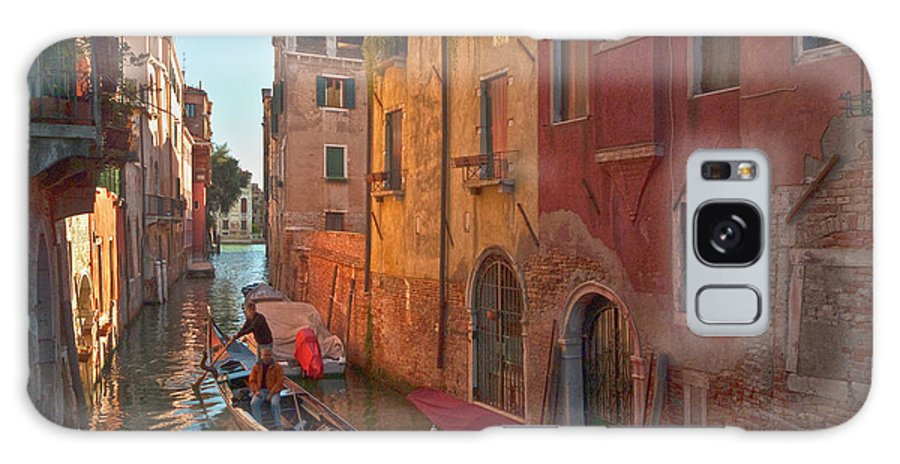 Venice Galaxy S8 Case featuring the photograph Venice Sentimental Journey by Heiko Koehrer-Wagner