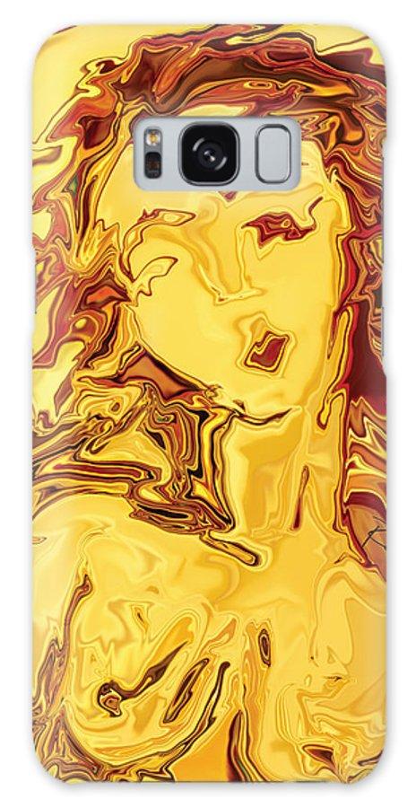 Galaxy Case featuring the digital art Venus 2008 by Rabi Khan