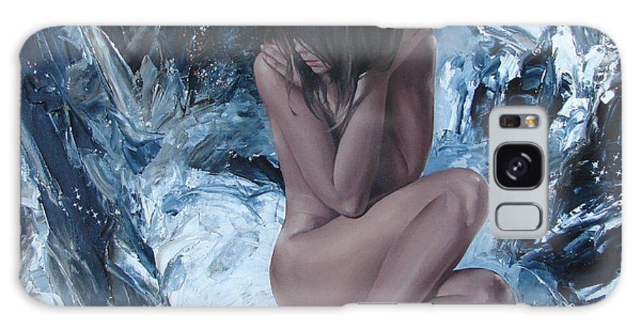Ignatenko Galaxy S8 Case featuring the painting Venus by Sergey Ignatenko