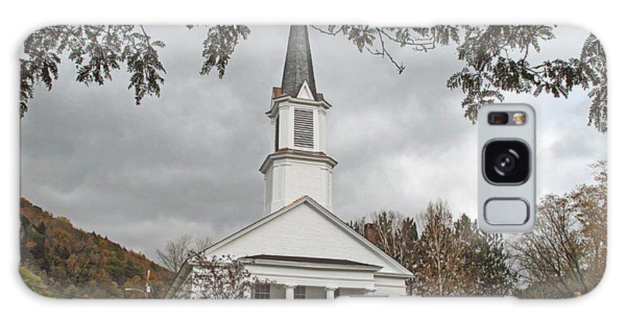 Church Galaxy S8 Case featuring the photograph Vermont Church by Barbara McDevitt