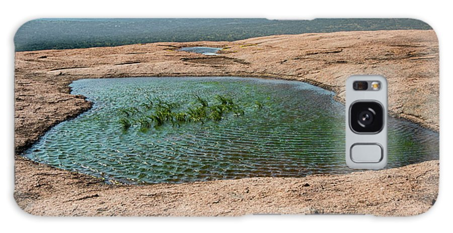Enchanted Rock State Natural Area Galaxy S8 Case featuring the photograph Vernal Pool by Bob Phillips