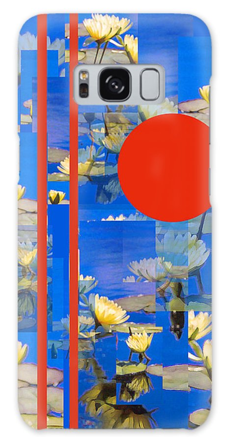 Flowers Galaxy S8 Case featuring the photograph Vertical Horizon by Steve Karol