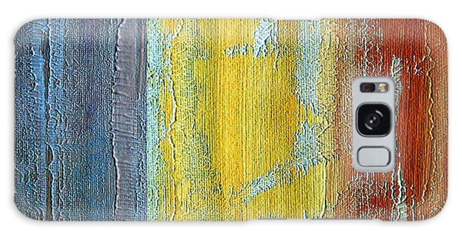 ruth Palmer Galaxy S8 Case featuring the painting Vertical Interfusion II by Ruth Palmer