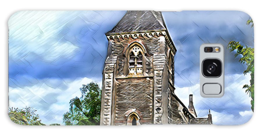 Church Galaxy S8 Case featuring the digital art Very Old Church by Pennie McCracken