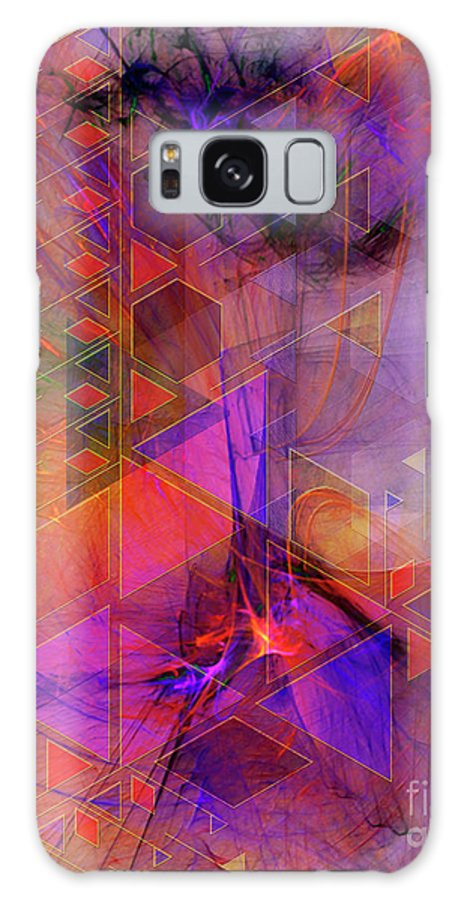 Vibrant Echoes Galaxy S8 Case featuring the digital art Vibrant Echoes by John Beck