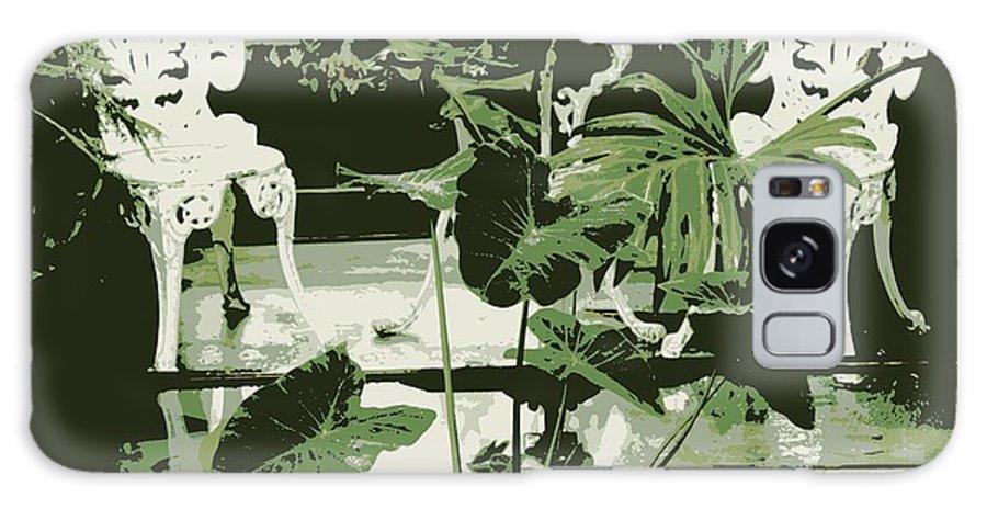 Victorian Galaxy S8 Case featuring the photograph Victorian Garden Poster by Carol Groenen