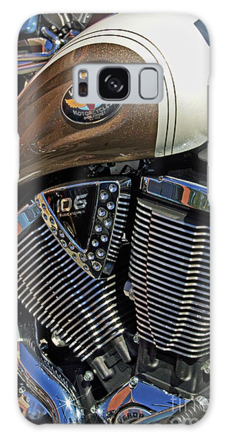 Motorcycle Art Galaxy S8 Case featuring the photograph Victory Power by Corky Willis Atlanta Photography