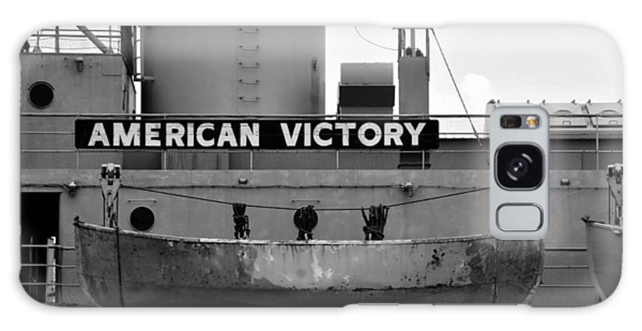 American Victory Ship Galaxy S8 Case featuring the photograph Victory Ship by David Lee Thompson