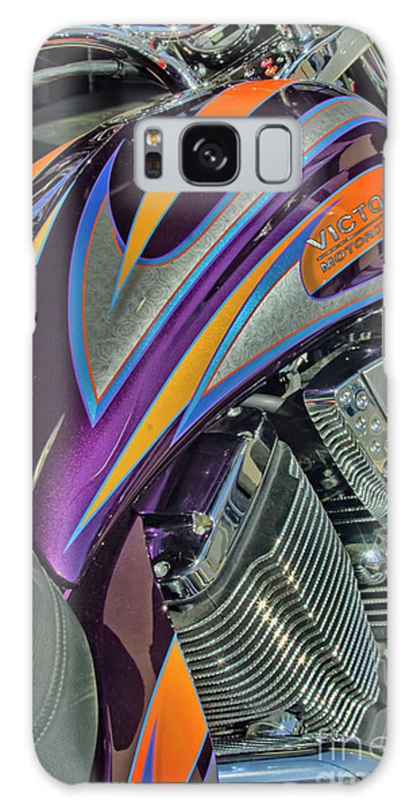 Motorcycle Art Galaxy S8 Case featuring the photograph Victory Vegas by Corky Willis Atlanta Photography