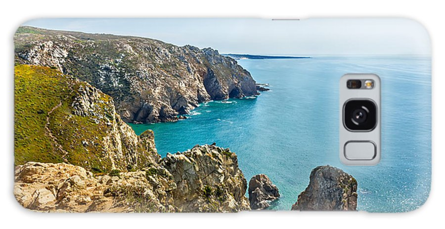 Atlantic Galaxy S8 Case featuring the photograph View From Cabo Da Roca, The Western Point Of Europe, Portugal by Dragomir Nikolov