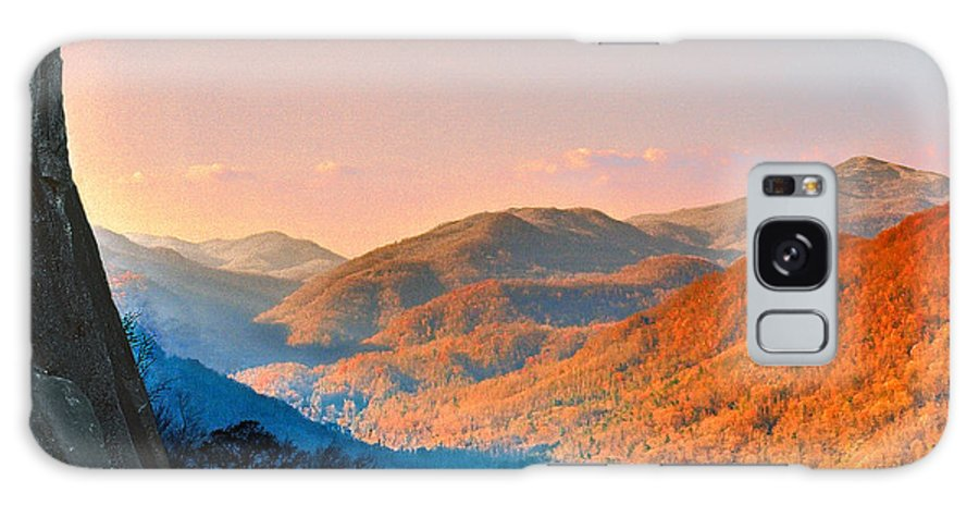 Landscape Galaxy S8 Case featuring the photograph View From Chimney Rock-north Carolina by Steve Karol
