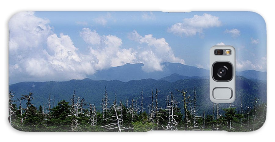 Smoky Mountains Galaxy S8 Case featuring the photograph View From Clingman's Dome by Nancy Mueller
