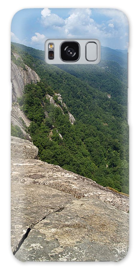 Chimney Rock Galaxy S8 Case featuring the photograph View From Exclamation Point At Chimney Rock Nc by Anna Lisa Yoder