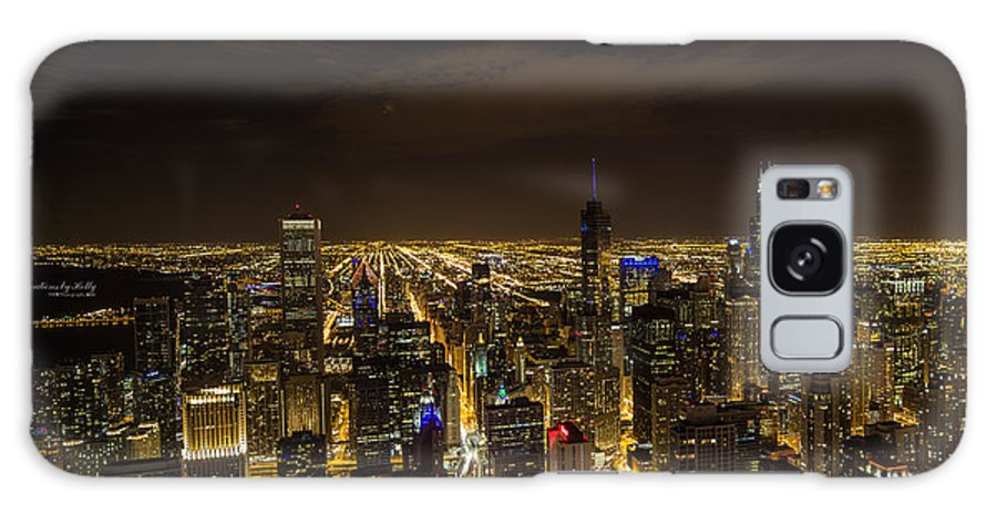 Chicago Galaxy Case featuring the photograph View From The 96th by Holly Carpenter