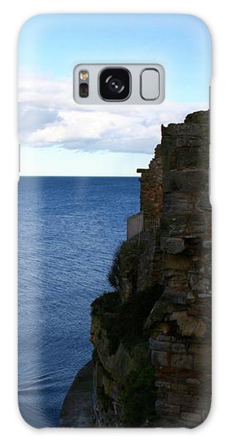 Sea Galaxy S8 Case featuring the photograph View From The Castle by Hannah Goddard-Stuart