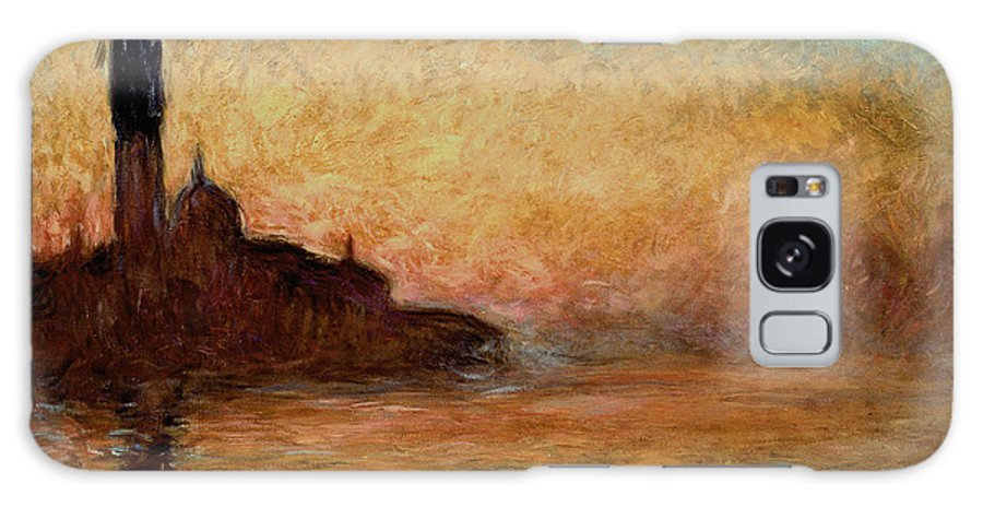 View Galaxy S8 Case featuring the painting View Of San Giorgio Maggiore by Claude Monet
