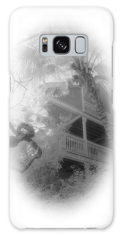 Balcony Galaxy Case featuring the photograph View Of The Balcony by Richard Rizzo