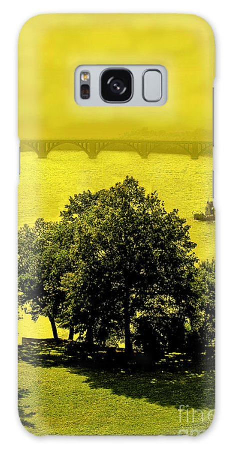 Potomac Galaxy S8 Case featuring the photograph View Of The Potomac by Madeline Ellis