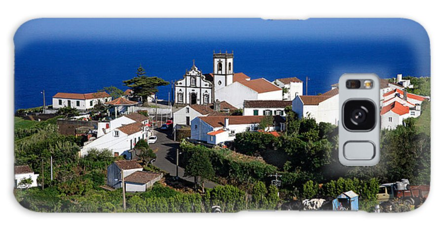 Azores Galaxy S8 Case featuring the photograph Village In The Azores by Gaspar Avila