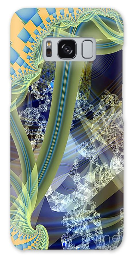 Vine Galaxy S8 Case featuring the digital art Vine Inner Structure by Ron Bissett