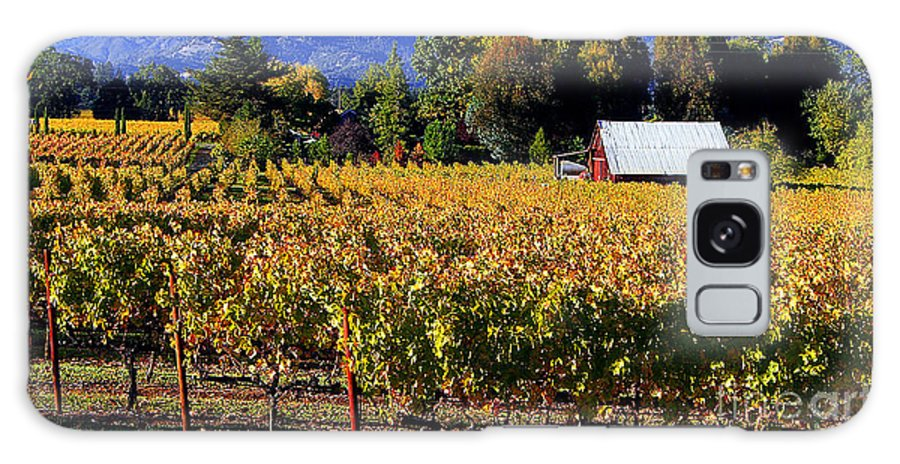 Napa Valley Galaxy S8 Case featuring the photograph Vineyard 4 by Xueling Zou
