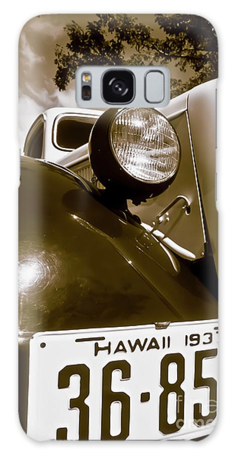 1937 Ford Galaxy Case featuring the photograph 1937 Ford Pickup Truck Maui Hawaii by Jim Cazel