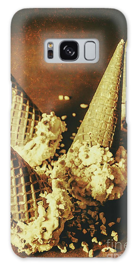Still Life Galaxy S8 Case featuring the photograph Vintage Ice Cream Cones Still Life by Jorgo Photography - Wall Art Gallery