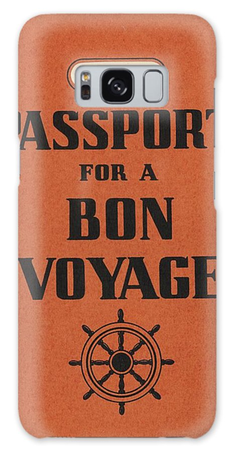 1930s Galaxy Case featuring the photograph Vintage Passport by Gillham Studios
