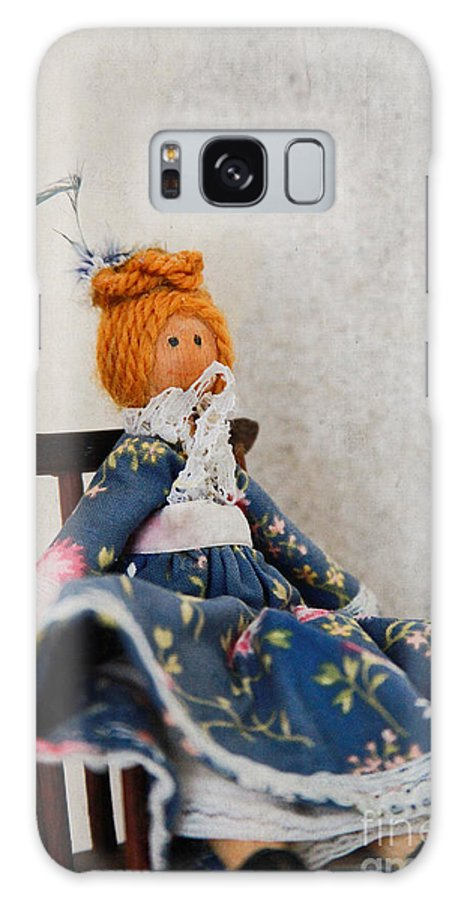 Peg Doll Galaxy S8 Case featuring the photograph Vintage Peg Doll by Jacqui Hall