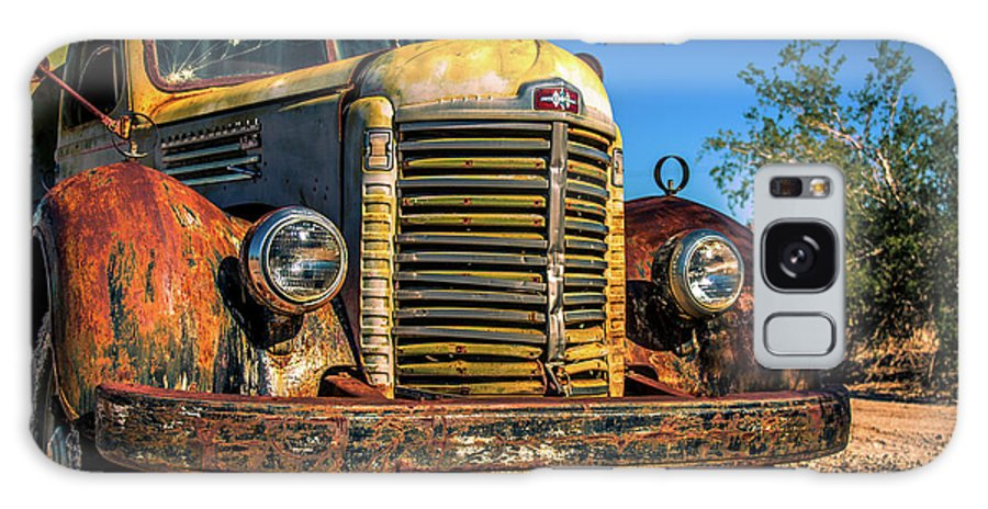 Truck Galaxy S8 Case featuring the photograph Vintage Truck by Mary Hone