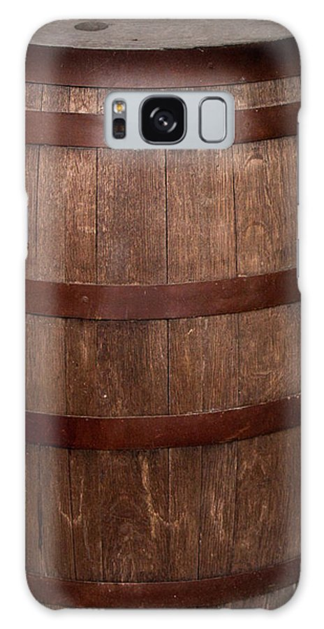 Vintage Galaxy S8 Case featuring the photograph Vintage Wine Barrel by David Millenheft